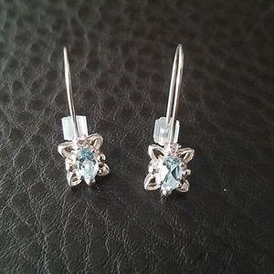 NWOT Avon sterling silver earrings